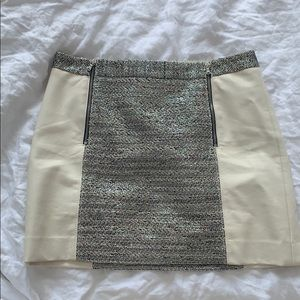 Sparkly Leather Skirt